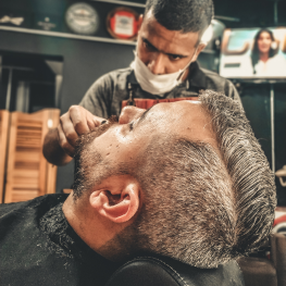 Камуфляж седины (борода)